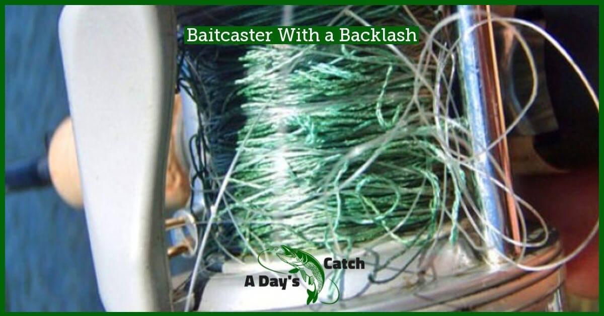 baitcaster with a backlash
