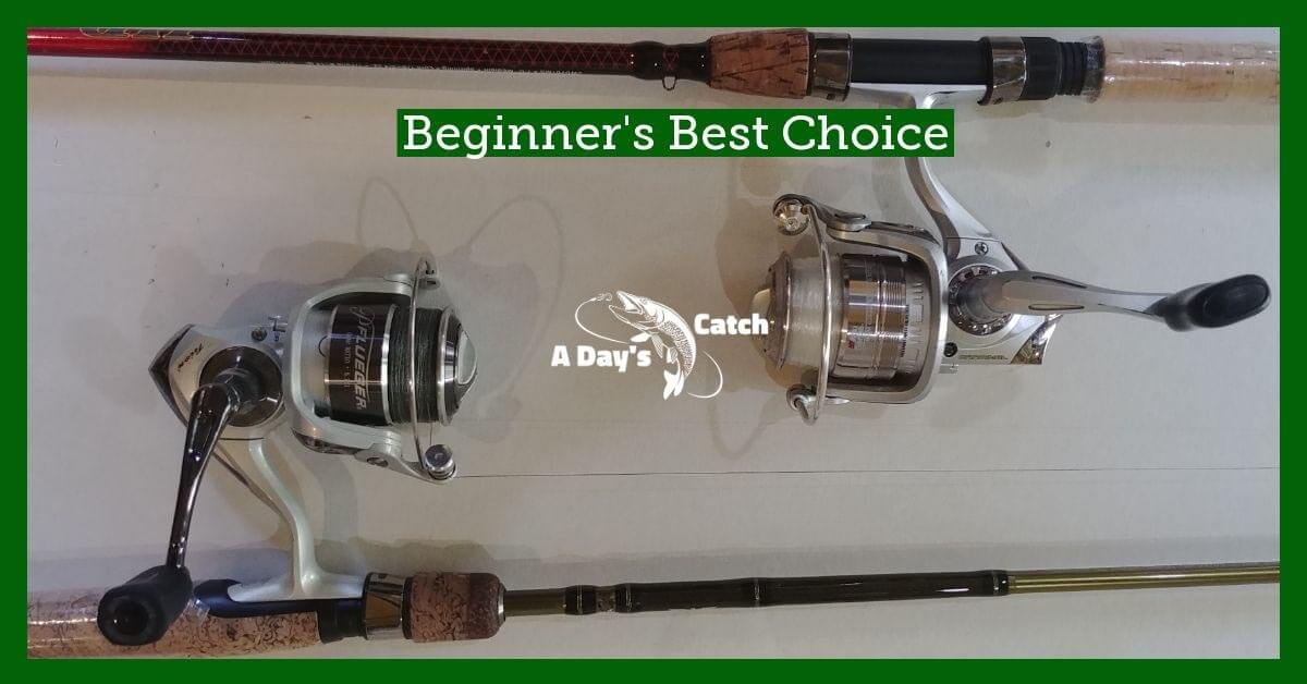 best beginner fishing reels