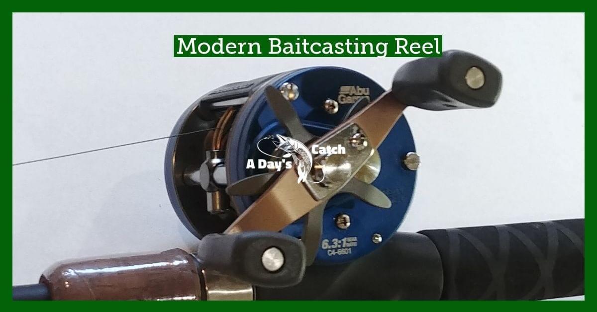 modern baitcasting reel
