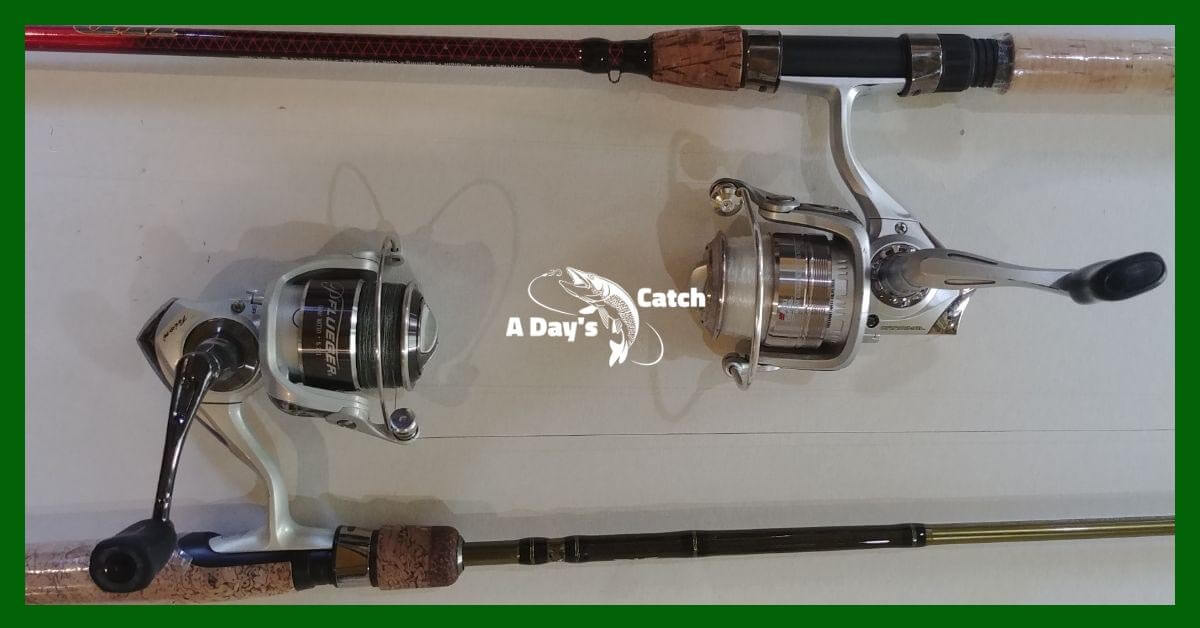 modern spinning fishing reels
