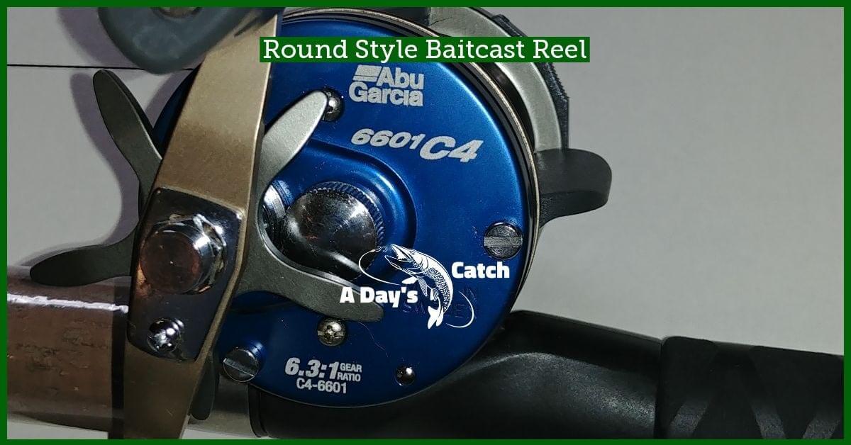 round style baitcast reel