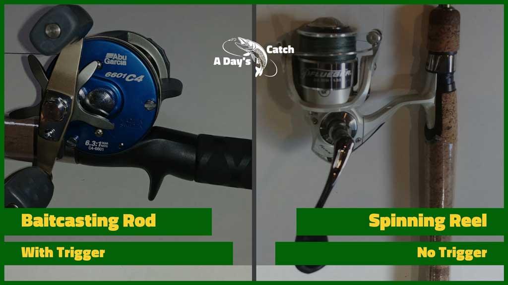 casting vs spinning rods