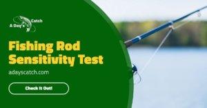 Fishing Rod Sensitivity Test